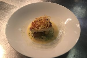 Try this fish dish from South Lodge