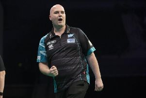 2018 World Darts Championship winner Rob Cross. Picture by Lawrence Lustig