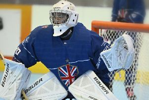 Maddie Trunchion in action for Great Britain. Picture courtesy of Warren Trunchion.
