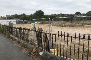 Work has started to build a new medical centre on Bexhill Road, St Leonards. SUS-190717-134520001