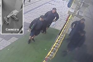 Do you recognise these men? Picture: Sussex Police