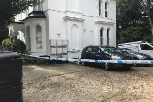Police were called to the scene at around 7am
