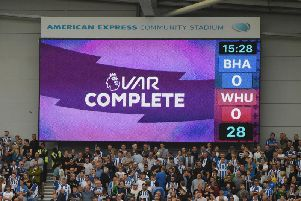 VAR is in use at every Premier League fixture this season