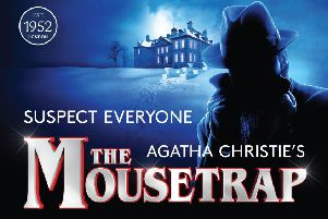 Tickets for The Mousetrap are on sale now