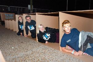 Sleep in a cardboard box and raise funds for charity helping Hastings homeless