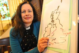 Chapel opened to pray for Brexit at St Mary's Church, the Causeway Horsham, pictured Rebecca Tuck. Pic Steve Robards SR14101901 SUS-191014-184747001