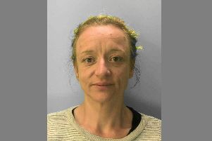 Sharon Gould. Photo courtesy of Sussex Police. SUS-191018-113410001