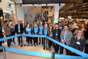 Opening of Primark in Hastings in March 2019