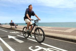 seafront cycle lane