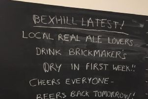 Brickmakers run out of beer SUS-191114-125729001