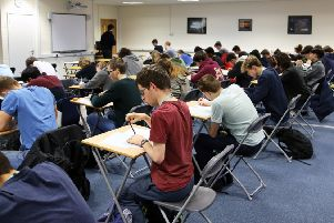 students in Bexhill college will be competing in the Mathematic trust Senior Maths Challenge