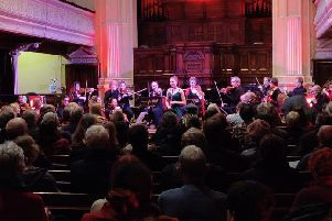 Daisy Noton with the London Mozart Players