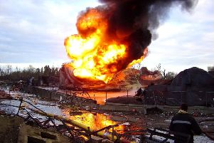 Petrol caused the massive explosion at Buncefield back in 2005. BP now want to store petrol back at their terminal