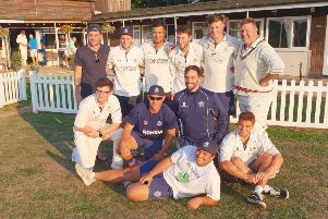 Champions ' Hemel Hempstead Town Cricket Club's Sunday first team clinched promotion from the Lords Chess Valley Division 3 at the weekend by taking the championship crown after a win over Chingford.