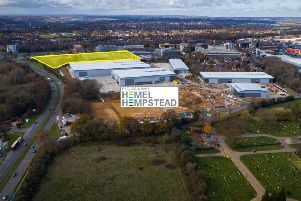The newly acquired site in Hemel Hempstead.