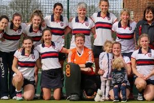 The Berkhamsted & Hemel Hempstead HC ladies' first team