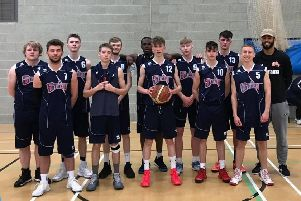 Hemel Storm's 16-18s youth side, who took on a talented Luton team recently in a closely-fought clash.