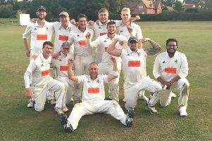 The Boxmoor team which won the Division 6B title on Saturday.
