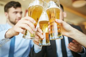The average Brit will consume 3.5 million calories from booze over a lifetime