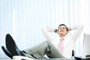 The signs of work success