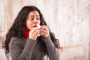 Colds and flu are spreading like wildfire around the UK at the moment