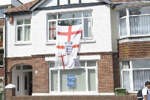 Are you planning on flying an England flag during the World Cup? Picture:Steve Reid