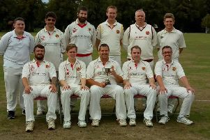 The Horncastle CC Sunday team.