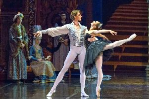 The Russian State Ballet brings Swan Lake to the Grimsby Auditorium this month