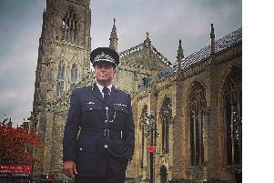 Rob Lowe posted this photo to his Instagram account with the caption 'Meet Chief Constable Bill Hickson. #WildBill