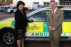 Couns Patricia Bradwell and Martin Hill. Image supplied.