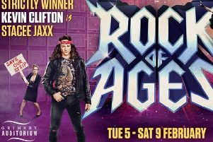 Rock Of Ages is being performed at Grimsby Auditorium all week.