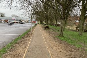 The footpath has now re-opened to the public. EMN-191203-092142001