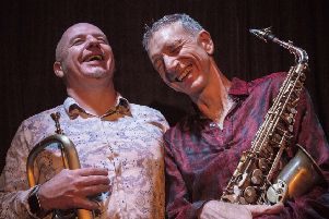 Snake Davis (right) will perform in Louth this weekend.