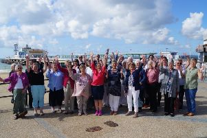 WI members at Bournemouth