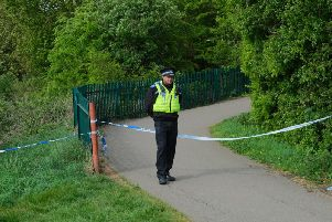 Police at the scene in New Waltham in late April 2019. (Credit: Grimsby News And Pictures Facebook page)