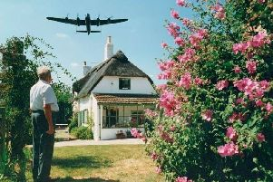 An iconic image at Lancaster cottage. Photo by Dave Mcleavy