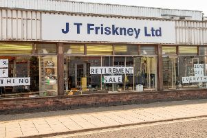 End of the road for JT Friskney who will shut up shop at the end of the month