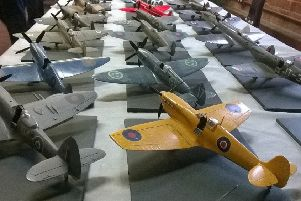 Some of the models on show