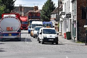 Mayor supports expansion and hopes county council cash could ease town's traffic misery