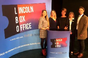 Lincoln Box Office was launched at the New Theatre Royal, Lincoln
