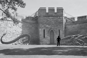 Mythical dragon to 'break through' Lincoln Castle as part of exhibition