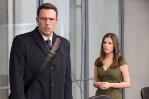 Ben Affleck and Anna Kendrick star in The Accountant