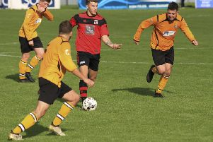 Joe McCabe put Locos ahead at Lossie