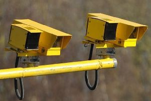 Cameras are located 5-7km apart, with 15 cameras operating in each direction