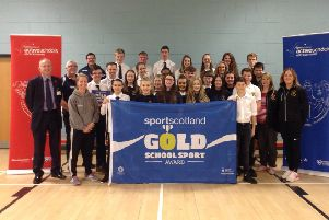 Meldrum Academy awarded gold status