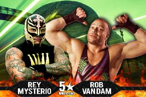WWE legends Rey Mysterio and Rob Van Dam bringing 5 Star Wrestling TV shows to UK Arenas in 2018