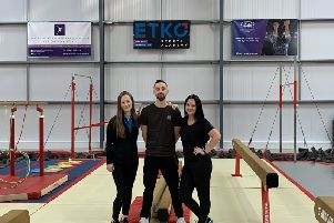 ETKO provides starter home for NE Gymnastics Centre
