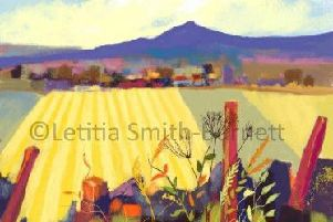 One of the limited edition digital prints by Letitia Smith Burnett