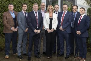 Lady Michelle Mone OBE attended the Inverurie Loco Works Football Club Business Lunch