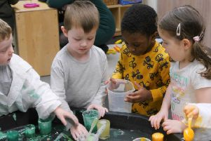 Three and four year-olds will be entitled to 1140 hours of early learning and childcare from August this year.